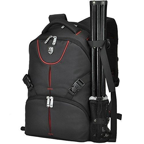 Black Backpack for SLR/DSLR Digital Nikon/ Canon Camera and Accessories