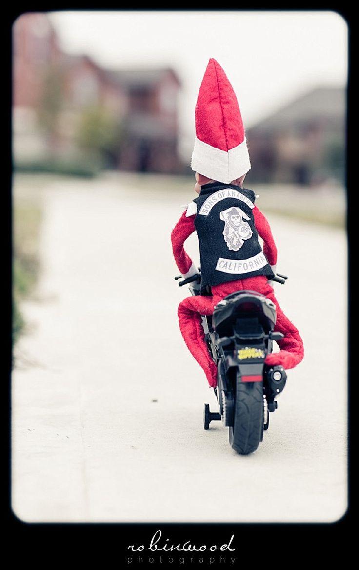 Elf on the Shelf  - Sons of Anarchy   STFU! @Stephanie Close Close Francis R.