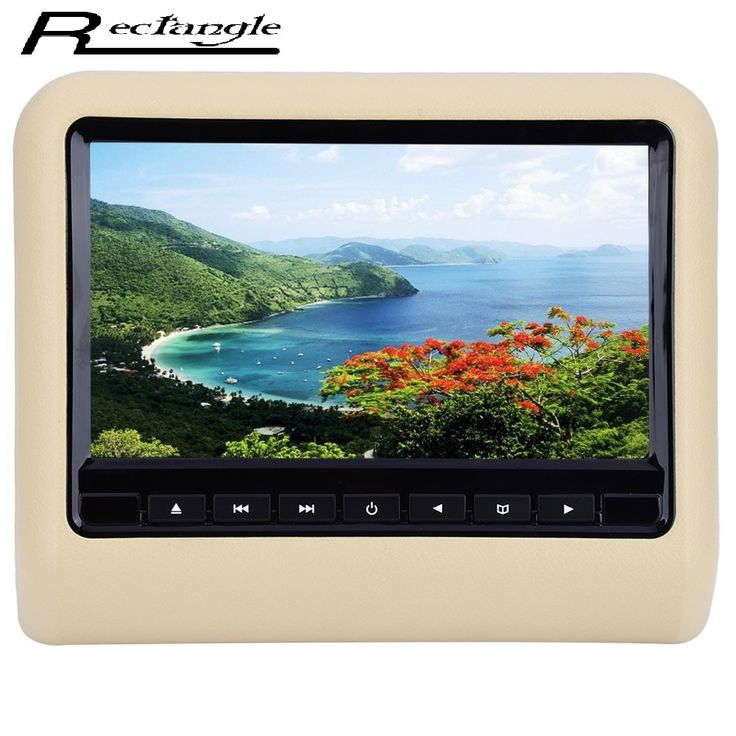 Buy online US $87.60  XD9901 9 Inch HDMI LCD Screen Monitor Universal Car Headrest Mount DVD Multimedia Player with Full Functional Remote Control