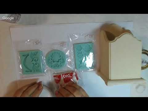 Наталья Каримова Имитация керамики со сколами 27 09 2017 - YouTube