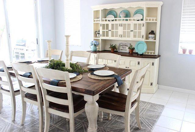 Marsilona Dining Room Chair Set Of 2 Two Tone Beautiful
