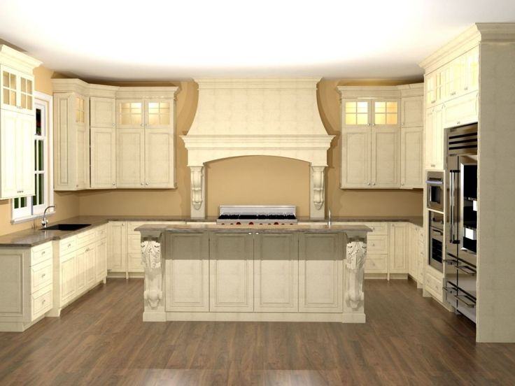 25 best ideas about Large kitchens with islands on Pinterest