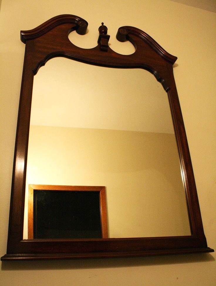 12 best basement renovation images on pinterest basement for How hang heavy mirror
