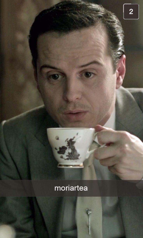 Snapchat from Sherlock