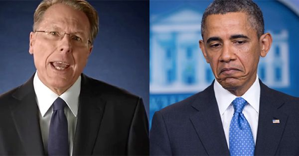 """In response to Obama's (ridiculous) gun control demands, the NRA has issued this bone-chilling message. Please share this until EVERY American sees it. On Tuesday, the NRA's Wayne LaPierre issued a startling statement. LaPierre scolded Obama and his liberal minions and exposed the truth behind their gun control schemes. LaPierre stated: """"President Obama has all …"""