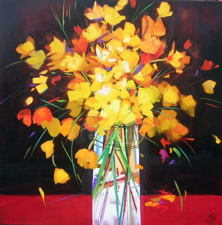 A oil on canvas flower painting by sara paxton feel free to have a look at some more paintings on