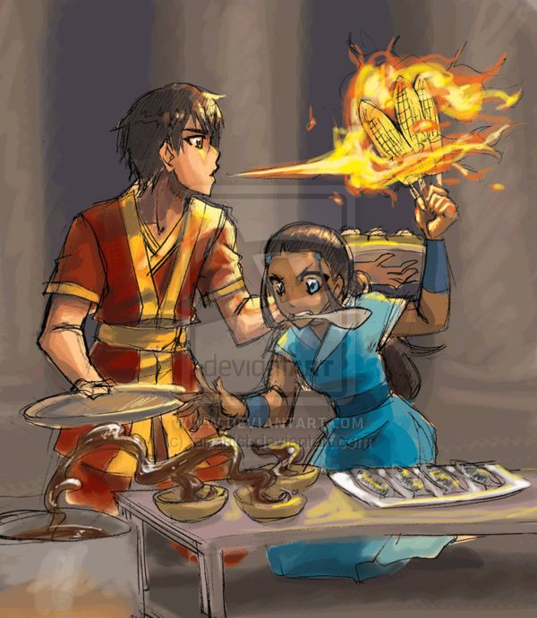 Team Avatar: Avatar The Last Airbender