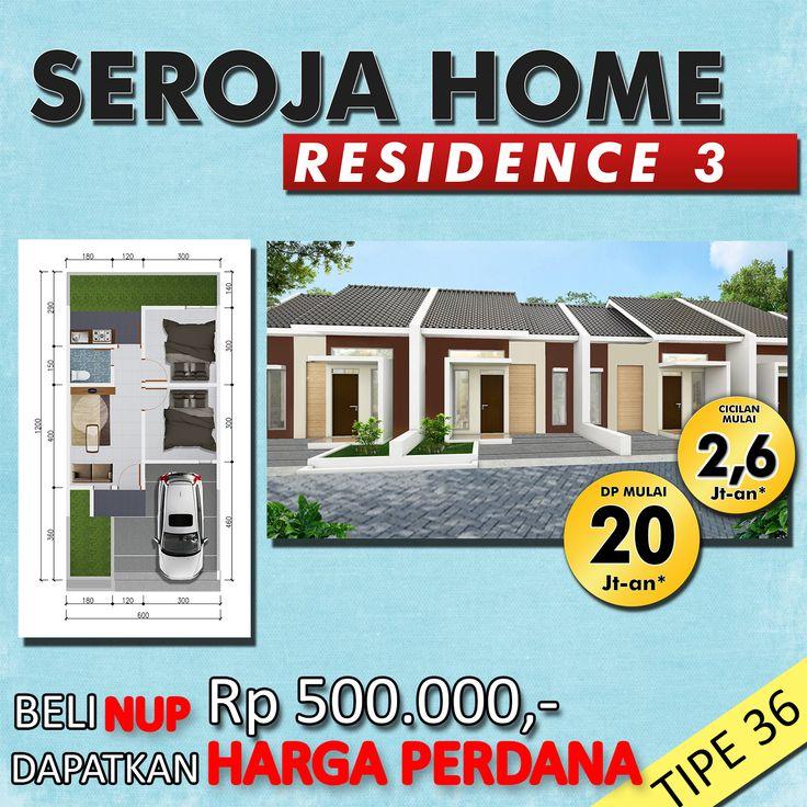 Seroja 1 Sold Out! Seroja 2 Sold Out! Kini Hadir Seroja  Home Residence 3! Belum punya hunian? Mau Investasi? Beli NUP seharga 500ribu sekarang dan dapatkan HARGA PERDANA! DP Mulai 20 Jutaan*! Cicilan Mulai 2,6 Jutaan*! Info Cek www.ganproperti.com atau WA 0812 3238 5000.  HARGA NAIK 6 NOVEMBER 2017!!  #house #rumahnyaman #properti #perumahan #property #realestatelife #realestate #rumah #rumahminimalis #rumahku #rumahbandung #perumahanbandung #25lokasi #landed #housing #ganproperti