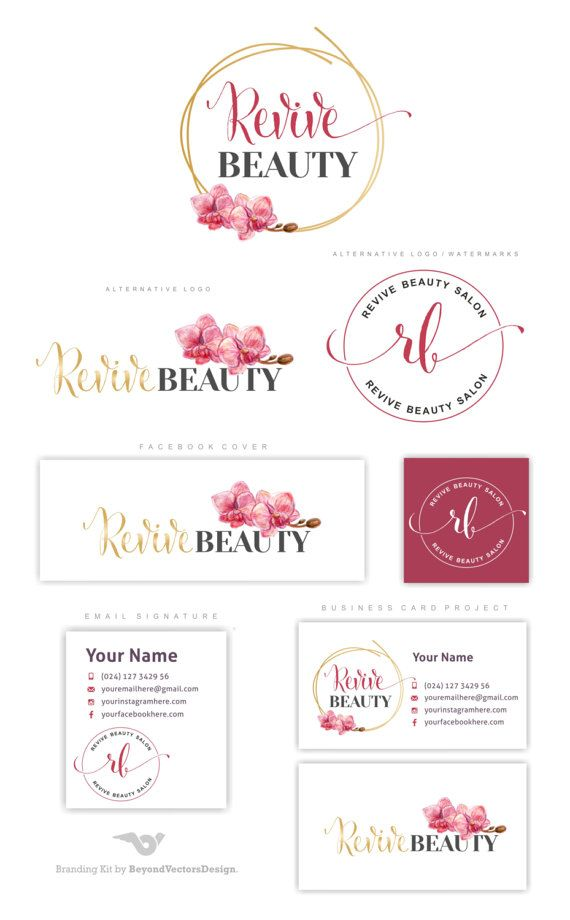 Premade Branding Kit, Orchid logo, Photography logo, Blog logo, Watermark, Flower Gold logo, Logo Design, Gold Initials, Photo logo set. This Premade Branding Kit would be perfect for photographers, event planners, wedding venues, interior designers, stylists, boutiques, make-up artists and other.  AFTER PURCHASING, EACH MY PROJECT WILL BE CUSTOMIZED BY FOLLOWING: PLEASE PROVIDE THE FOLLOWING AT CHECKOUT: ==============&#x3...