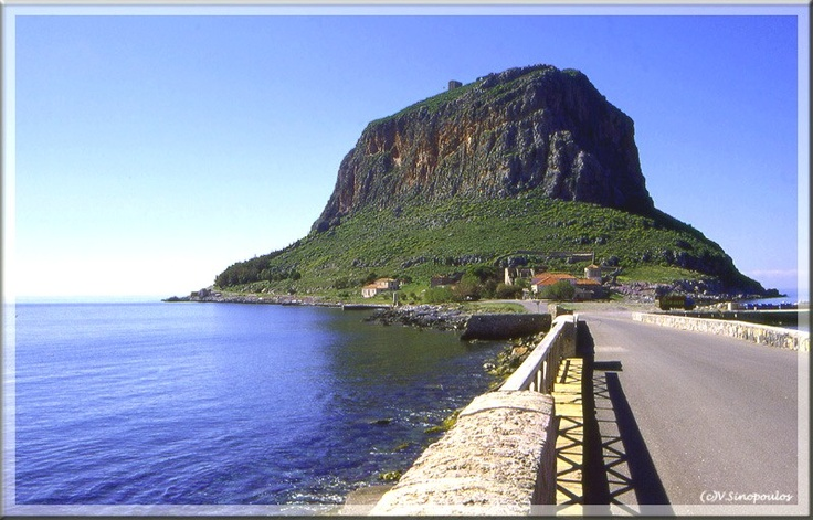 "Destination Monemvasia, a weekend in heaven  Monemvasia (Μονεμβάσια) is located in the southeastern Peloponnese in the prefecture of Laconia, 400 meters from land having been separated from the mainland by an earthquake in 375 A.D. Its name is derived from two Greek words, mone and emvassi, meaning ""single entrance""...."