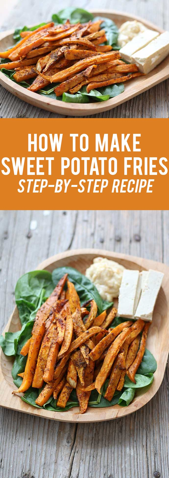 How to Make Sweet Potato Fries | Step-by-Step Recipe |  Here's how to make sweet potato fries by following this easy, step-by-step recipe! Also get some delicious dipping sauce ideas for these sweet potato fries.