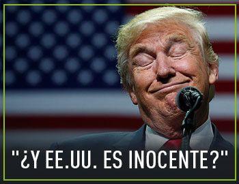 """El presidente estadounidense critica que en su país haya """"muchos asesinos"""" en una entrevista a la cadena Fox News."""