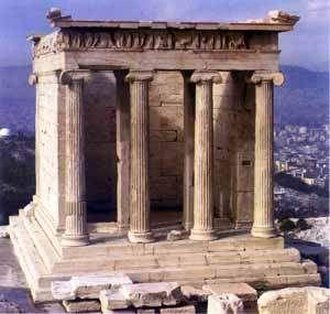 La Acrópolis de Atenas (orden dórico).