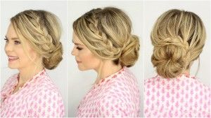 fench-braids-hairstyle-for-women-lace-braid-up-do