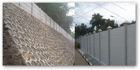 Semakin mudah membuat pagar dengan Beton Precast