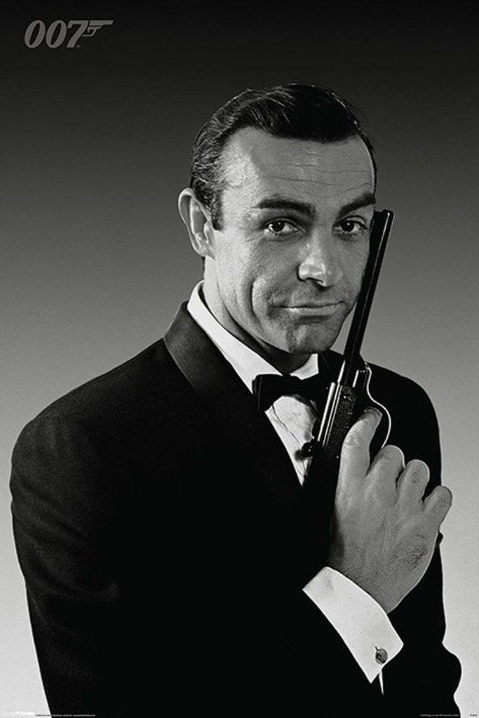 James Bond - Sean Connery Tuxedo - Official Poster
