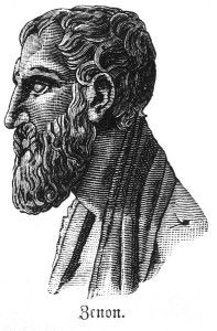 Zeno of Elea was a pre-socratic philosopher. Zeno generated the argument that motion is impossible, claiming that to get from point A to point B, we need to reach the halfway mark and  then traverse to the median of the remaining distance. Mathematically, the remaining distance can be divided into 1/2, then 1/4, then 1/8, then 1/16 and so on, ad infinitum. Many debates have been generated regarding this argument and that is why it is called a paradox.