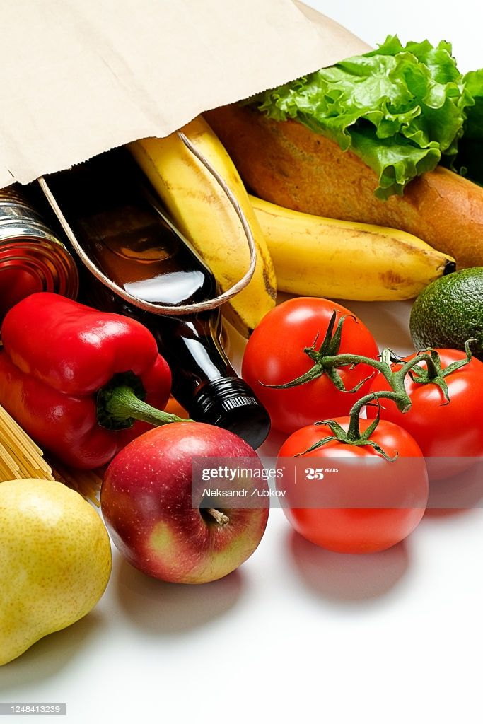 Groceries In A Paper Bag Vegetarian And Vegan Food Donation And In 2020 Vegan Recipes Food Food Donation