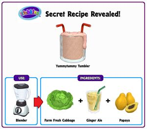 27 best webkinz secret recipes images on pinterest secret recipe recipe revealed yummytummytumbler forumfinder Gallery