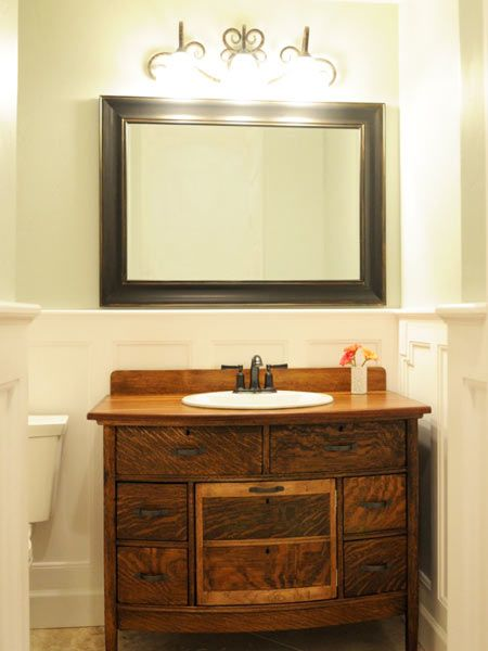 17 Best images about Old Dresser Turns Into Bathroom Vanity on ...