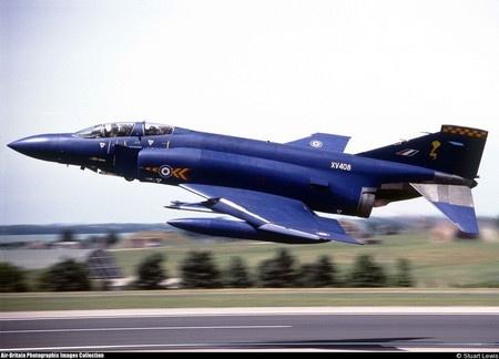 XV408 McDonnell Phantom FGR. 2 92 Sqn Royal Air Force