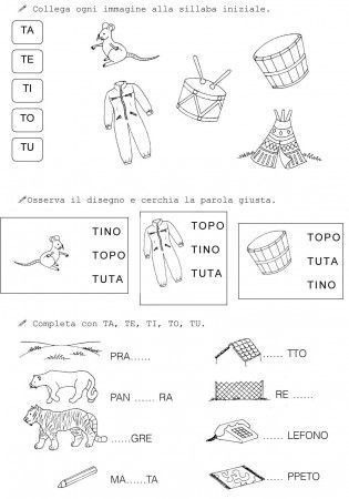 T DI TOPO CLASSE PRIMA 2