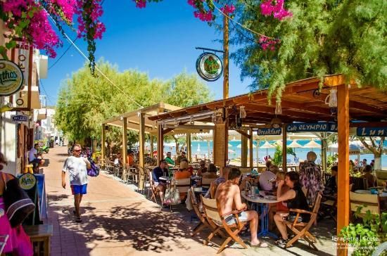 Where to eat in Crete, Greece: Olympio Cafe