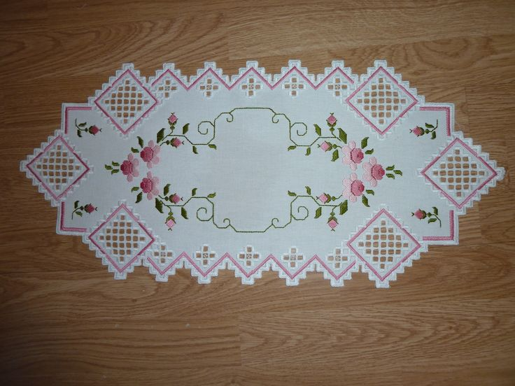 Hardanger with flowers