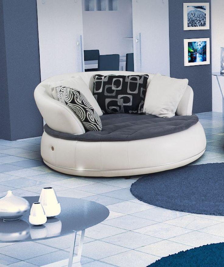 Esapace, divano moderno, design, divano 2 posti, divano 3 posti, poltrona tonda, divano in vera pelle