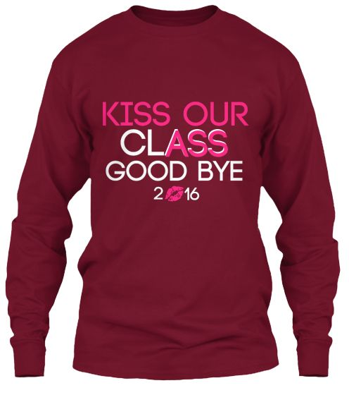 Senior Shirt Class of 2016