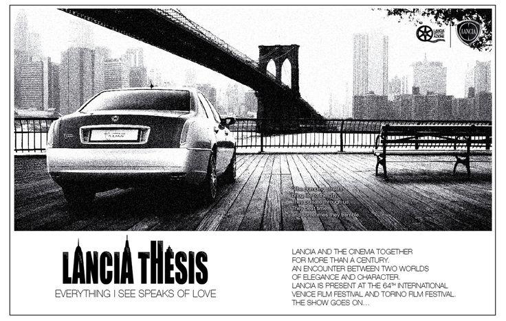 Sketchbook historic cars Pictures: Tu vuò fà l'americano ! - LANCIA Thesis