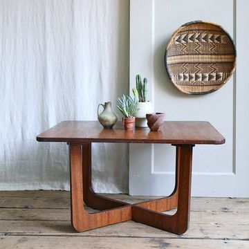 Mid-Century Coffee Table by Trampoline Vintage.