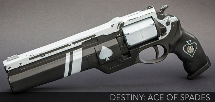 Ace of Spades is a level 40 Exotic Hand Cannon. Only Hunters can acquire this weapon. Ace of Spades can be acquired from completing the Rank 3 gunsmith quest Back in the Saddle as a Hunter. Players need to be rank 3 with Gunsmith before obtaining this quest.