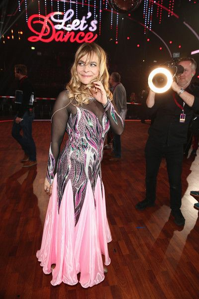 Nastassja Kinski Photos Photos - Nastassja Kinski poses for a photograph during the 3rd show of the television competition 'Let's Dance' on April 1, 2016 in Cologne, Germany. - 'Let's Dance' 3rd Show
