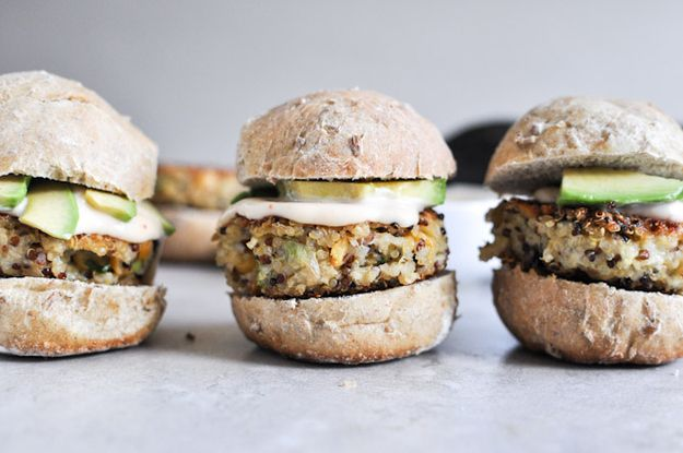 Crispy Quinoa Sliders | 32 Ways To Eat Quinoa And Succeed In Life
