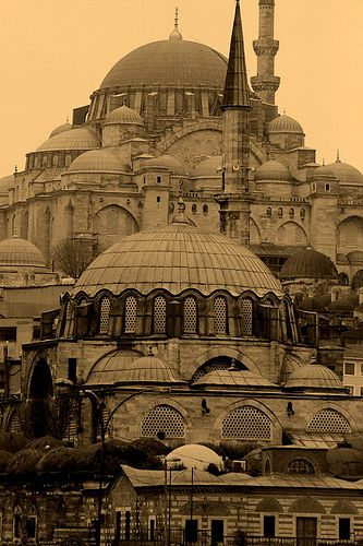 Istanbul, Turkey.  Istanbul was Constantinople/Now it's Istanbul, not Constantinople/Been a long time gone, Constantinople/Now it's Turkish delight on a moonlit night...