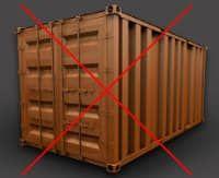 Los contenedores de carga son un buen método para el envío de mercancías, pero Meka opina que no son una solución adecuada para utilizar como vivienda, ya que precisan de muchas modificaciones. Ellos proponen casas hechas con módulos del tamaño del contenedor ISO, y las envían a cualquier parte del mundo.