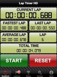Laptimer for Android