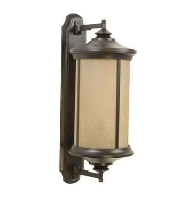 Exteriors - Z6520-88 sales at Exteriors Lighting.  Transitional Wall Lanterns Outdoor Lights in a decorative Oiled Bronze Gilded finish