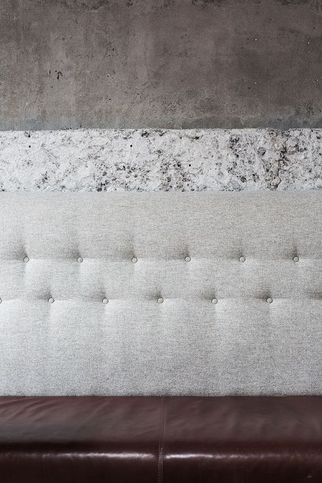 banquette seating | finishes | textures | DILL (Iceland), Surface Interiors | Restaurant & Bar Design Awards