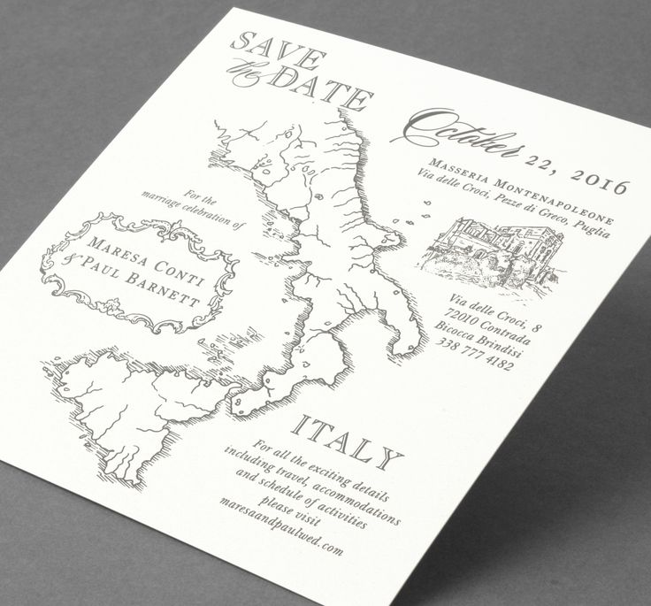 wedding invitations map%0A Vera Wang save the date card Available at honeypaper com  Save The Date  MapsWedding