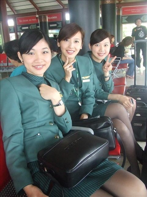 Eva Air Stewardess Cabin Crew Cabin Crews Pinterest