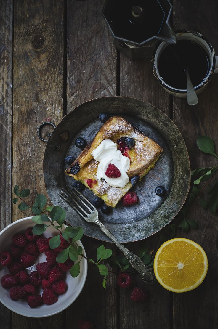 Il pain perdu al forno (baked french toast)