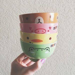 Daiso Other - Kawaii Daiso Japan Soup & Rice Bowls