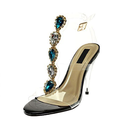 Cheville Lanière Angkorly Escarpin Montante Mode Sandale Chaussure hsrtCdQ