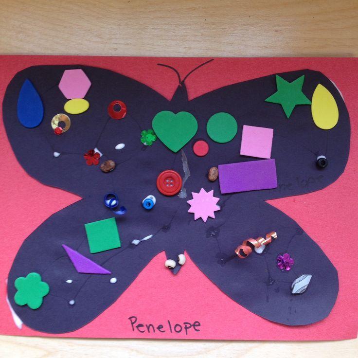 25 Best Ideas About Nursery Collage On Pinterest: Butterfly Collage For Preschool Art.