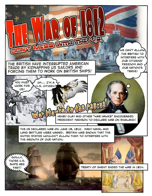Students use Comic Life to make their own history comic.  I use this as my Unit 4 project during our Westward Expansion unit.  I also use Comic Life to create posters that I print out for units using the school's huge poster printer.  This way I get bright colorful posters with exactly the content I need students to see and use and I don't pay a dime.