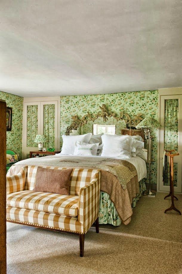 English Cottage Bedroom Via Dustjacket Attic