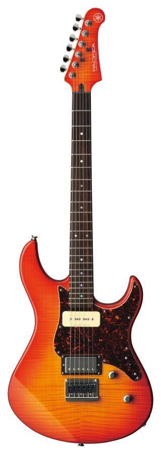 Yamaha Pacifica 611HFM Electric Guitar Flamed Maple body with Light Amber Burst finish