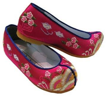 Girl Dol Hanbok Shoes (고무신) - 2 colors